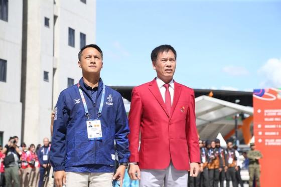 Lễ thượng cờ 'hoành tráng' của đoàn thể thao Việt Nam tại SEA Games 30 ảnh 4