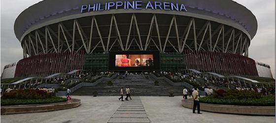 Hình ảnh đẹp của nhà thi đấu Philippine Arena nơi diễn ra lễ khai mạc SEA Games 30 ảnh 1