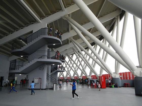 Hình ảnh đẹp của nhà thi đấu Philippine Arena nơi diễn ra lễ khai mạc SEA Games 30 ảnh 2