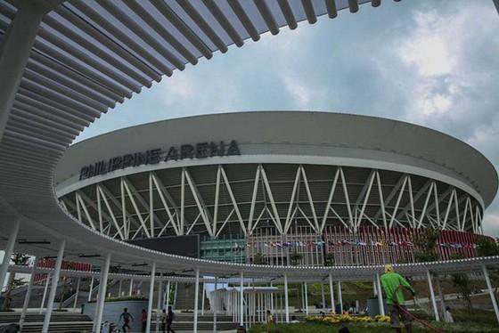 Hình ảnh đẹp của nhà thi đấu Philippine Arena nơi diễn ra lễ khai mạc SEA Games 30 ảnh 3