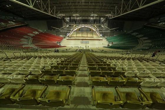 Hình ảnh đẹp của nhà thi đấu Philippine Arena nơi diễn ra lễ khai mạc SEA Games 30 ảnh 6