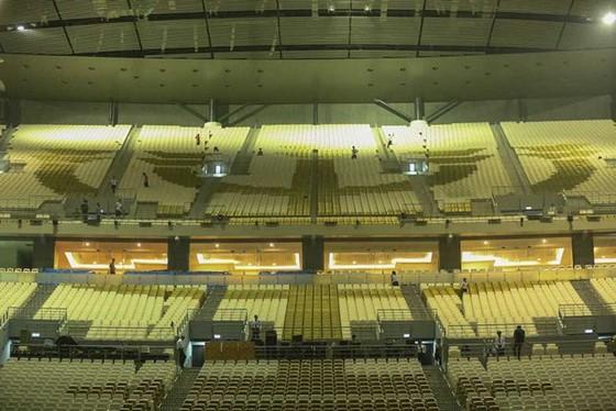 Hình ảnh đẹp của nhà thi đấu Philippine Arena nơi diễn ra lễ khai mạc SEA Games 30 ảnh 7
