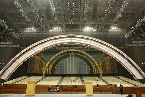 Hình ảnh đẹp của nhà thi đấu Philippine Arena nơi diễn ra lễ khai mạc SEA Games 30 ảnh 9