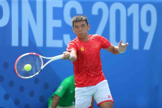 Một số hình ảnh Lý Hoàng Nam và  chiếc HCV lịch sử cho quần vợt Việt Nam tại SEA Games 30 ảnh 1