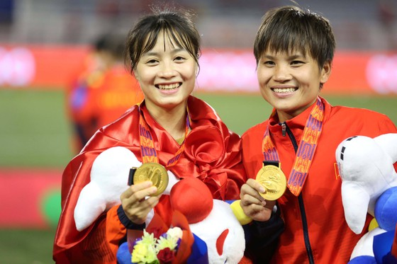 Hoa khôi tuyển nữ Việt Nam chưa vội yêu chỉ nghĩ đến sự nghiệp sau SEA Games 30 ảnh 5