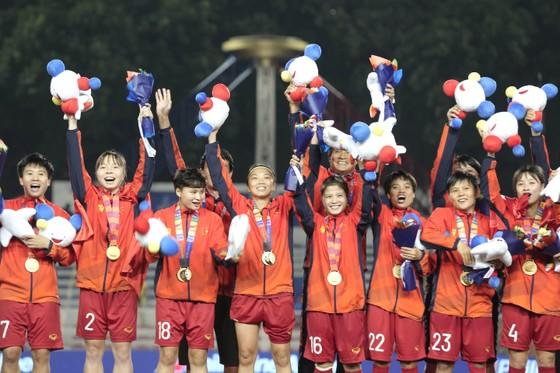 Tuyển nữ Việt Nam được hứa thưởng hơn 13 tỷ đồng sau SEA Games 30. Ảnh: DŨNG PHƯƠNG