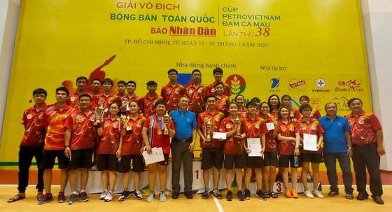  Giải bóng bàn vô địch toàn quốc 2020: Tay vợt Mai Hoàng Mỹ Trang lần thứ 15 lên ngôi vô địch ảnh 5