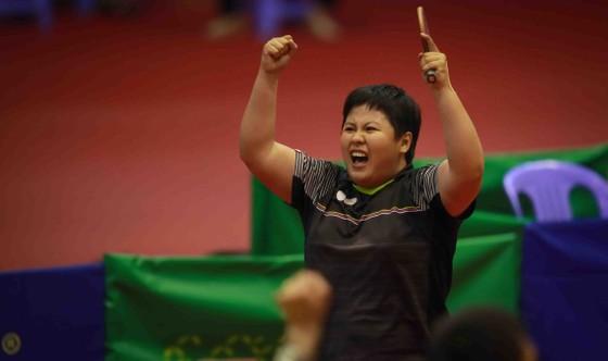Tay vợt Mai Hoàng Mỹ Trang xuất sắc vô địch lần thứ 12 giải bóng bàn vô địch toàn quốc năm 2020. Ảnh: Dũng Phương