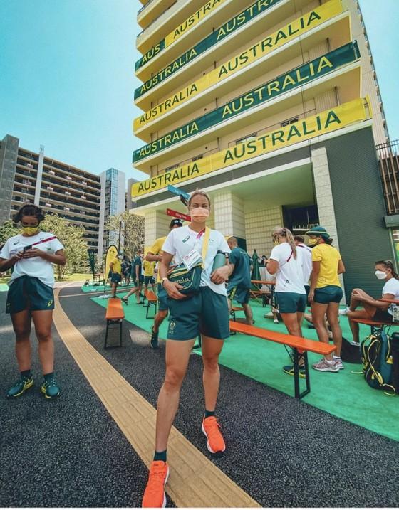 """Các VĐV Australia """"bật mí"""" nơi ở hoành tráng ảnh 5"""