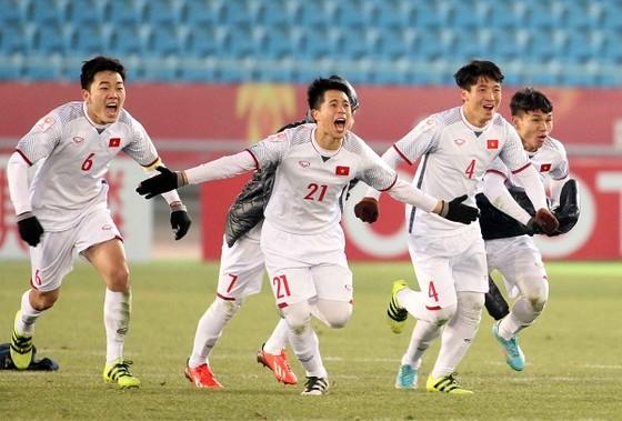 Đội U23 Việt Nam được thưởng lớn sau trận bán kết. Ảnh: ANH KHOA