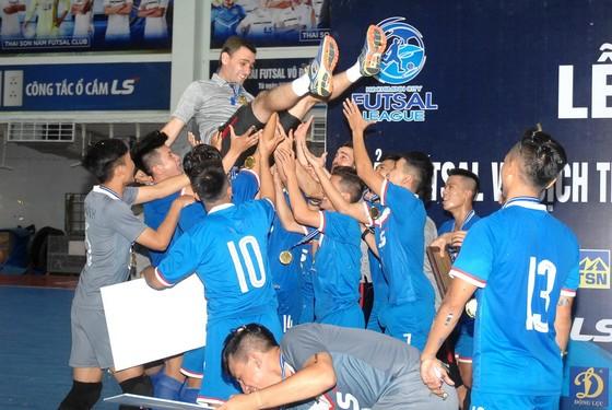 Thái Sơn Nam Q.8 vô địch giải futsal TPHCM 2018 ảnh 1