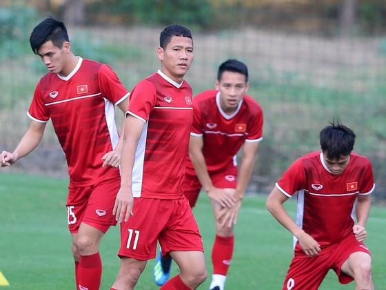 Với kinh nghiệm của mình, Anh Đức có thể được  ông Park tin dùng trong trận gặp Malaysia. Ảnh: MINH HOÀNG