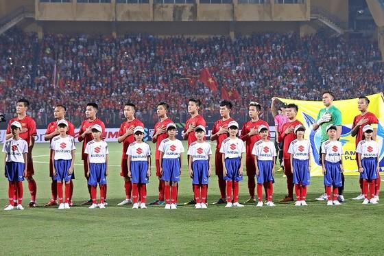 Đội tuyển Việt Nam giành ngôi đầu bảng A. Ảnh: MINH HOÀNG