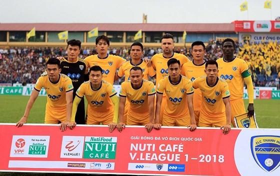 Đội Thanh Hóa khôn thành công ở AFC Cup 2018. Ảnh: MINH HOÀNG