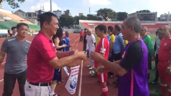 Các cựu cầu thủ họp mặt tưởng niệm 5 năm ngày mất HLV Phạm Huỳnh Tam Lang ảnh 1