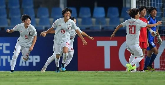 U19 nữ Nhật Bản đăng quang sau chiến thắng trước CHDCND Triều Tiên. Ảnh: AFC
