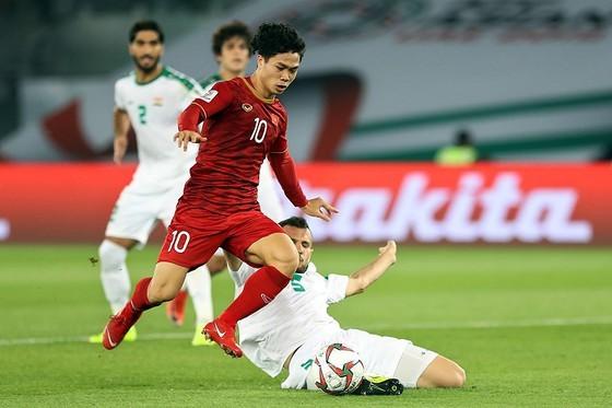 Công Phượng thường được ông Park tin dùng trong các trận đối đầu với những đội đến từ Tây Á. Ảnh: Minh Hoàng