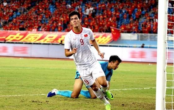 Tiến Linh được xem như tiền đạo chủ lực của U22 Việt Nam tại SEA Games 2019. Ảnh: ĐOÀN NHẬT