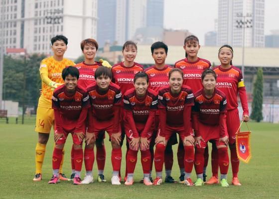 ĐT nữ Việt Nam, đương kim vô địch SEA Games và Đông Nam Á. Ảnh: Đoàn Nhật