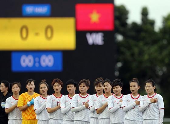 ĐT nữ Việt Nam sớm giành vé vào bán kết. Ảnh: Dũng Phương