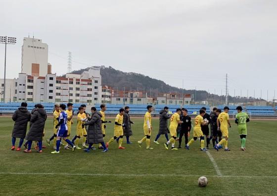 Đức Chinh và Hoàng Đức ghi bàn, U23 Việt Nam thắng trận tại Hàn Quốc ảnh 1
