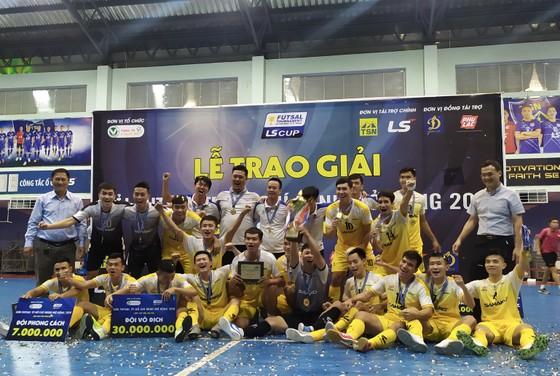 Sahako vô địch Giải futsal TPHCM mở rộng 2019 ảnh 1