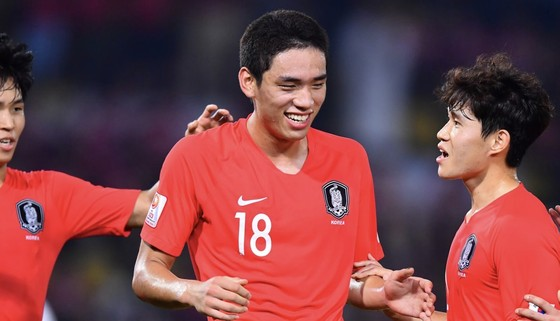 Hàn Quốc toàn thắng ở bảng C. Ảnh: AFC