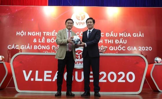 V-League 2020 sẽ có nhà tài trợ đến từ Hàn Quốc. Ảnh: MINH HOÀNG