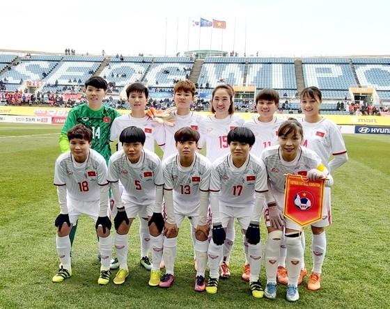 ĐT nữ Việt Nam sẽ gặp Australia hoặc Trung Quốc ở vòng play-off. Ảnh: ĐOÀN NHẬT