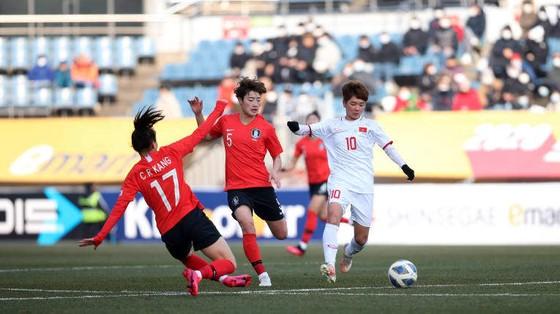 Thua Hàn Quốc 3-0, tuyển nữ Việt Nam xếp nhì vòng loại bảng A ảnh 1