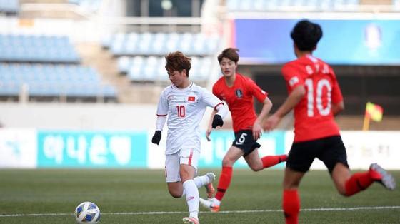 ĐT nữ Việt Nam khép lại vòng bảng với vị trí thứ nhì. Ảnh: AFC