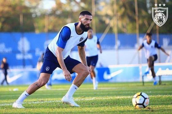 Liridon Krasniqi đủ điều kiện khoác áo đội tuyển Malaysia. Ảnh: Football Tribe