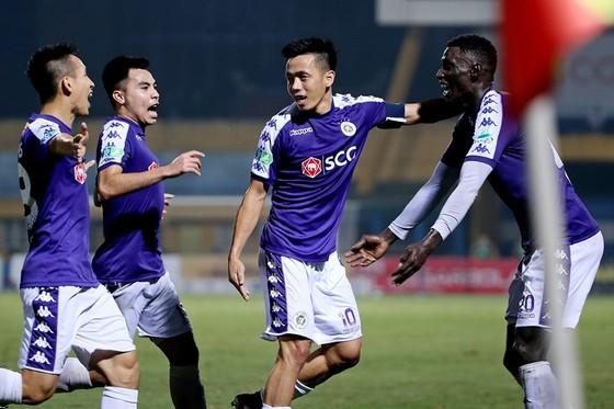 Hà Nội FC vẫn duy trì bộ khung hùng hậu. Ảnh: HNFC