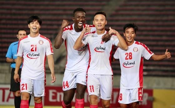 CLB TPHCM bất bại sau lượt đi vòng bảng AFC Cup 2020. Ảnh: HCMCFC