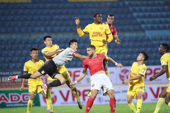 LS V-League 2020 tạm ngưng sau 2 vòng đầu tiên. Ảnh: MINH HOÀNG