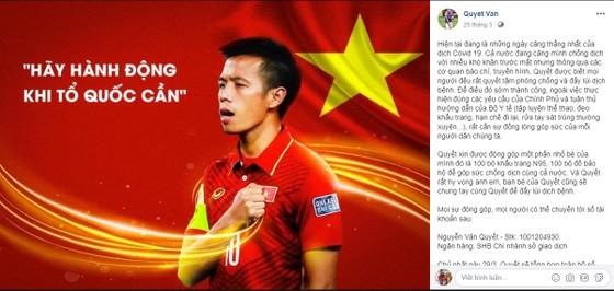 Giới cầu thủ Việt trong thời Covid-19 ảnh 1