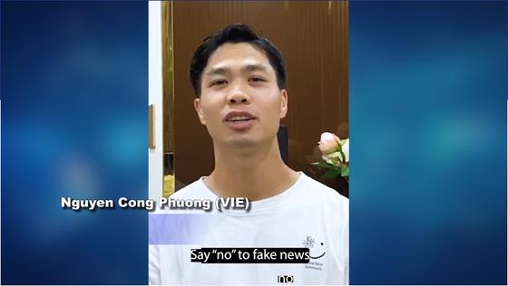 Tiếp bước Quang Hải, Công Phượng tham gia chiến dịnh vì Cộng đồng phòng chống dịch Covid-19