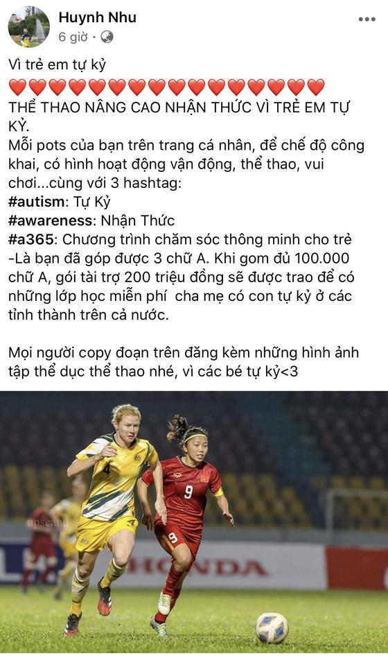 Cầu thủ bóng đá Việt Nam hành động vì trẻ em tự kỷ ảnh 1