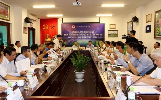 Các đại biểu tham dự buổi họp, Ảnh: Đoàn Nhật