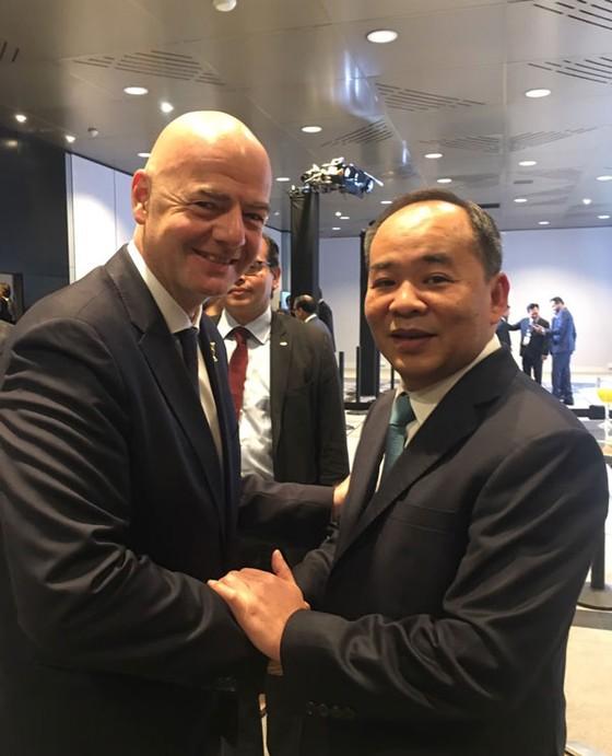 Chủ tịch FIFA gửi thư cảm ơn Bóng đá Việt Nam đã chung tay chống lại dịch Covid-19 ảnh 1