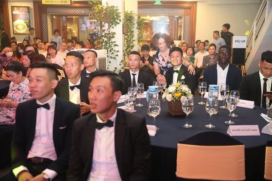 Các cầu thủ tại Lễ trao giải. Ảnh: Dũng Phương