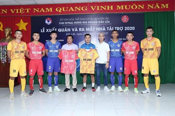 Đội tân binh giải futsal VĐQG 2020 đã có nhà tài trợ trang phục. Ảnh: Anh Trần