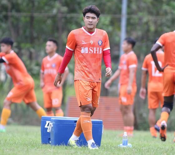 Đức Chinh sẽ lỡ trận đấu của Đà Nẵng trên sân Vinh ở vòng 3. Ảnh: Viết Định