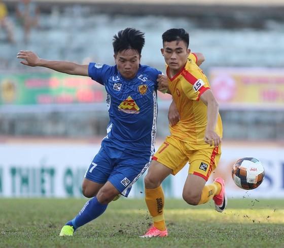 Quảng Nam giành chiến thắng quan trọng trước Thanh Hoá. Ảnh: Viết Định