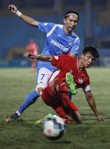 Viettel giữ lại 1 điểm trên sân nhà trước Than Quảng Ninh ảnh 1