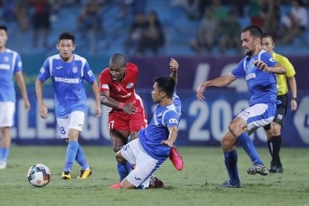 Viettel giữ lại 1 điểm trên sân nhà trước Than Quảng Ninh ảnh 2