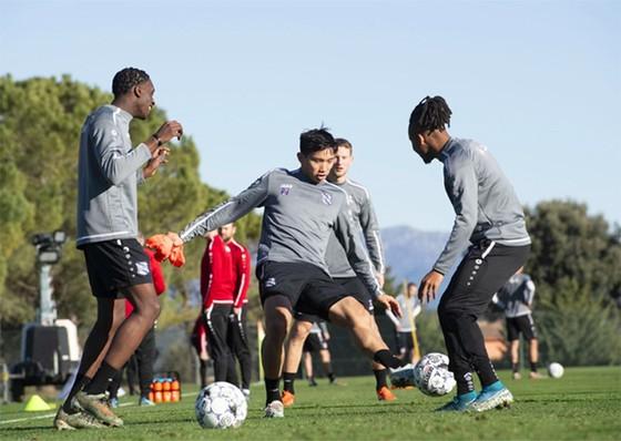 Văn Hậu vẫn mong muốn ở lại cùng đội bóng của Hà Lan.