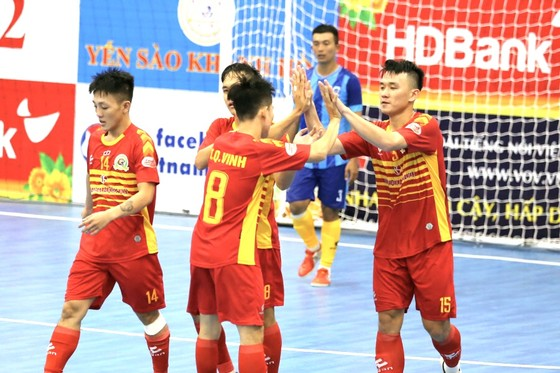 Sahako tiếp tục gây ấn tượng tại giải Futsal VĐQG 2020 ảnh 1