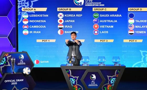 U19 Việt Nam rơi vào bảng C khá cân sức.
