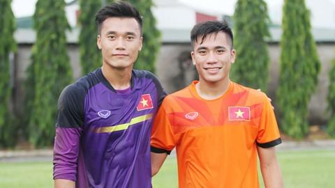Tiến Dũng và người em trai Tiến Dụng sẽ có cơ hội đối đầu trên sân Thống Nhất ở vòng 7 LS V-League 2020.
